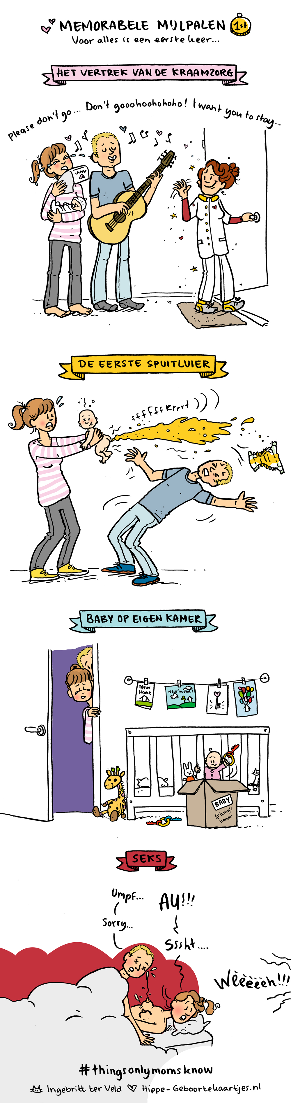Mijlpalen - Deze cartoons beschrijven het moederschap