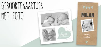 geboortekaartjes foto