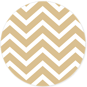 Sluitsticker chevron